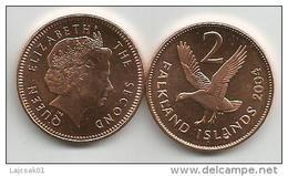 Falkland Islands 2 Pence 2004. High Grade - Falkland