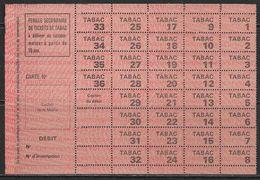 France, Ticket De Tabac, En Super état - Tickets - Vouchers