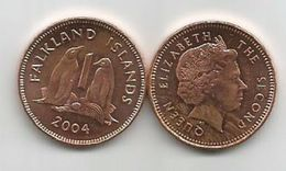 Falkland Islands 1 Penny 2004. - Falkland Islands