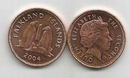 Falkland Islands 1 Penny 2004. - Falkland