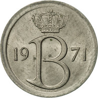 Belgique, 25 Centimes, 1971, Brussels, TTB+, Copper-nickel, KM:153.1 - 02. 25 Centimes