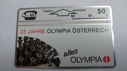 Austria-(p137)-olympia-(302l)-(50ein)-tirage-7.000-+1card Prepiad Free - Oesterreich