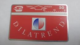 Austria-(p193)-dilatrend-(307l)-(50ein)-tirage-7.500-+1card Prepiad Free - Autriche