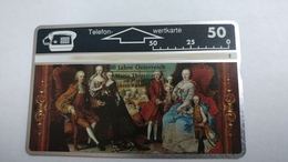 Austria-(p198)-1000 J.O-M Thersia-(308l)-(50ein)-tirage-3.000-+1card Prepiad Free - Autriche