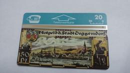 Austria-(p203)-deggendorf-borse94-(309l)-(20ein)-tirage-750-+1card Prepiad Free - Autriche