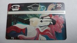 Austria-(p205)-art Card-bernstein 3-(309l)-(20ein)-tirage-1.000-+1card Prepiad Free - Autriche