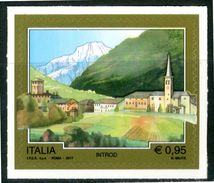 ITALIA / ITALY 2017** - Turismo - Introd - 1 Val. Autoadesivo MNH Come Da Scansione - 1946-.. République