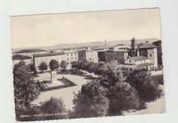 EMPOLI - PIAZZA DELLA VITTORIA- CARTOLINA FORMATO GRANDE - VIAGGIATA 1953 - POSTCARD - Empoli