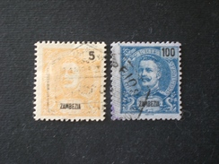 PORTUGAL PORTOGALLO ZAMBEZIA 1898 -1901 King Carlos I Of Portugal - Zambèze