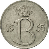 Belgique, 25 Centimes, 1965, Brussels, TTB+, Copper-nickel, KM:153.1 - 02. 25 Centimes