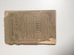 Indicateur NOBLET De PARIS ,  1893 - Europe