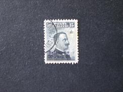 LEVANTE ITALIA SALONICCO 1909 EFFIGIE VITTORIO EMANUELE III - Bureaux D'Europe & D'Asie