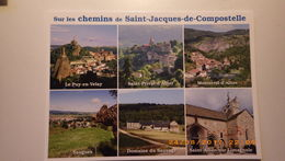 Sur Le Chemin De Saint Jacques De Compostelle. .Le Puy , St Privat D'allier, Monistrol, Saugues, Dom. Sauvage, St Alban - Christentum