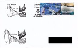 SPAIN. FDC NATIONAL MUSEUM OF UNDERWATER ARCHEOLOGY. CARTAGENA. 2017 - FDC