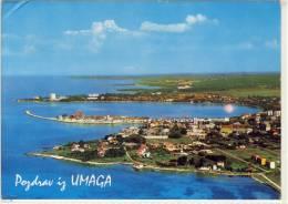 UMAG - Pozdrav Iz Umaga, Panorama, Air View - Yugoslavia