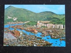 HONG KONG - BIRD S EYE VIEW OF ABERDEEN - China (Hongkong)