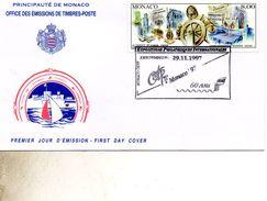 FDC MONACO   MONACO 97   TIMBRE   N° YVERT ET TELLIER  3145 1997 - FDC