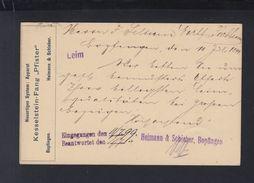 Württemberg GSK 1899 VorduckKesselstein-Fang Bopfingen - Wuerttemberg