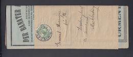 Romania Der Banater Philatelist With Wrapper Unopened 1923 To Germany - 1918-1948 Ferdinand, Carol II. & Mihai I.