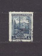 Czechoslovakia TCHECOSLOVAQUIE Tschechoslowakei 1929 Gest Mi 292 Used Sc 166 Tatra C3 - Used Stamps