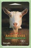 New Zealand - 1994 Animal Eyes $10 Goat - NZ-D-22 - VFU - New Zealand