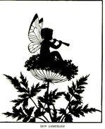 Sein Liebeslied  (nach Einem Scherenschnitt) / Druck, Entnommen Aus Zeitschrift/1929 - Livres, BD, Revues