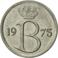 Belgique, 25 Centimes, 1975, Brussels, TTB+, Copper-nickel, KM:154.1 - 02. 25 Centimes