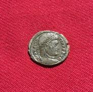 CONSTANTINUS I, AE 3 *SARMATIA DEVICTA*, 2.98 Gr. III C.A.D, EXCELLENT QUALITY AND PATINA, RARE (76) - 7. L'Empire Chrétien (307 à 363)