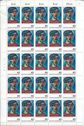 ZAlleFc648 - Allemagne RFA 1974 - Belle Feuille Entière Neuve** De 25 Timbres - ARTS : Peinture De Alexej Von Jawlensky - Arte