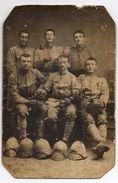 Carte Photo - Des Soldats Du 84ème RI - Armée D'Orient , Casques Coloniaux - Guerre 1914-18
