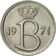 Belgique, 25 Centimes, 1971, Brussels, TTB+, Copper-nickel, KM:154.1 - 02. 25 Centimes