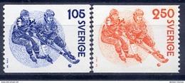 SWEDEN 1979 Sport: Bandy MNH / **..  Michel 1053-54 - Sweden