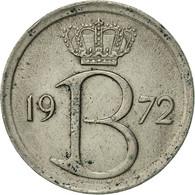Belgique, 25 Centimes, 1972, Brussels, TTB+, Copper-nickel, KM:154.1 - 02. 25 Centimes