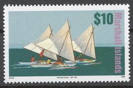 Marshall Islands 1994 Mi# 547** DEFINITIVE, SAILING VESSELS - Marshall Islands