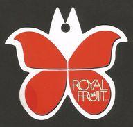 # UVA ROYAL FRUIT - TABLE GRAPE Italy Fruit Tag Balise Etiqueta Anhänger Cartellino Uva Raisin Uvas Traube - Fruits & Vegetables