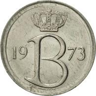 Belgique, 25 Centimes, 1973, Brussels, TTB+, Copper-nickel, KM:153.1 - 02. 25 Centimes