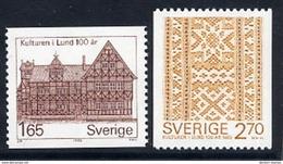 SWEDEN 1982 Historical Museum MNH / **.  Michel 1193-94 - Sweden