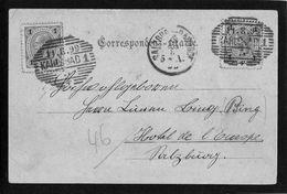 CACHET KARLSBAD Du 11.8.99 Sur Timbre Autrichien - - 1850-1918 Empire