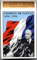Général De Gaulle 1890-1990 - Histoire De France - Jeu De 54 Cartes - 54 Cartes