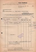 A6315 - Alte Rechnung - Steinbach - Willy Schäftlein - Wirkerei Und Strickerei 1956 - Deutschland