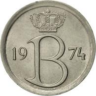 Belgique, 25 Centimes, 1974, Brussels, TTB+, Copper-nickel, KM:154.1 - 02. 25 Centimes