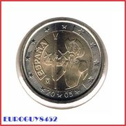 SPANJE - 2 € COM. 2005 UNC - DON QUICHOTE - Espagne