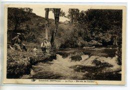 87-01 LAURIERE Les Pecheurs à La Ligne La Faye Un Coin De L'Ardour  1930    /D07 -2016 - Lauriere