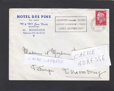HOTEL DES PINS,BOISSEJOUR. - France