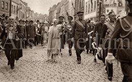 ROYALTY / Belgium / Belgique / Roi Albert I / Koning Albert I / Reine Elisabeth / Mons / Bergen / 1930 - Mons