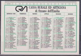 Calendario Plastificato 1993 - Calendari