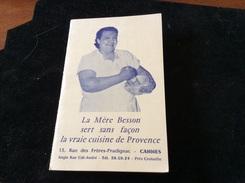 Cannes La Mère Besson Sert Sans Façon La Vraie Cuisine De Provence - Cannes