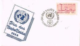 25342. Carta F.D.C. RIO De JANEIRO (Brasil) 1964. ONU. Naciones Unidas - Brasil