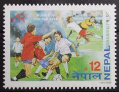 Soccer Football Nepal #665 1998 World Cup France MNH ** - World Cup