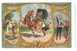 17780    Cpa       Die Drei Brüder  , Illustré Par Paul Hey ! - Hey, Paul